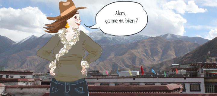Look ethnique : les tibétaines