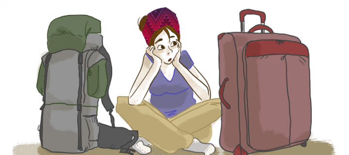 Valise, sac à dos : que choisir ?