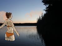 Camping au Québec dans les Laurentides. Episode 1 !