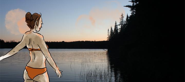 Camping au Québec dans les Laurentides, épisode 2