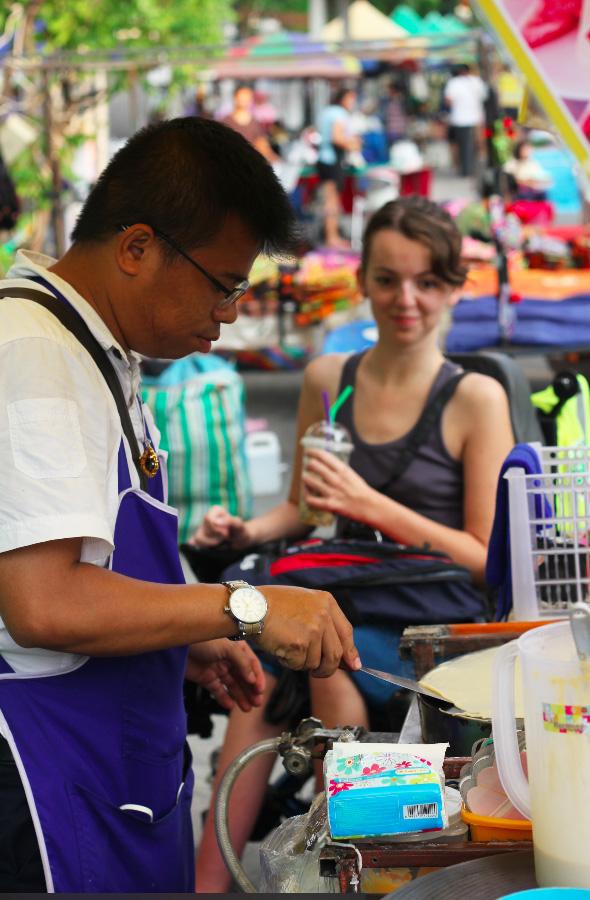 Chiang Mai La Fille Voyage