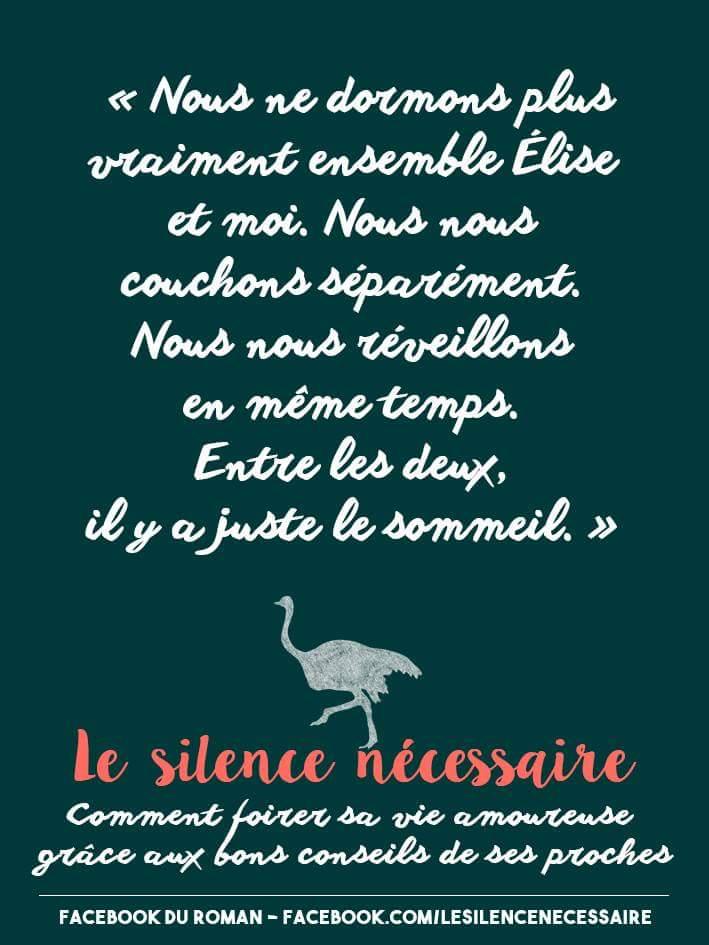 Le silence nécessaire