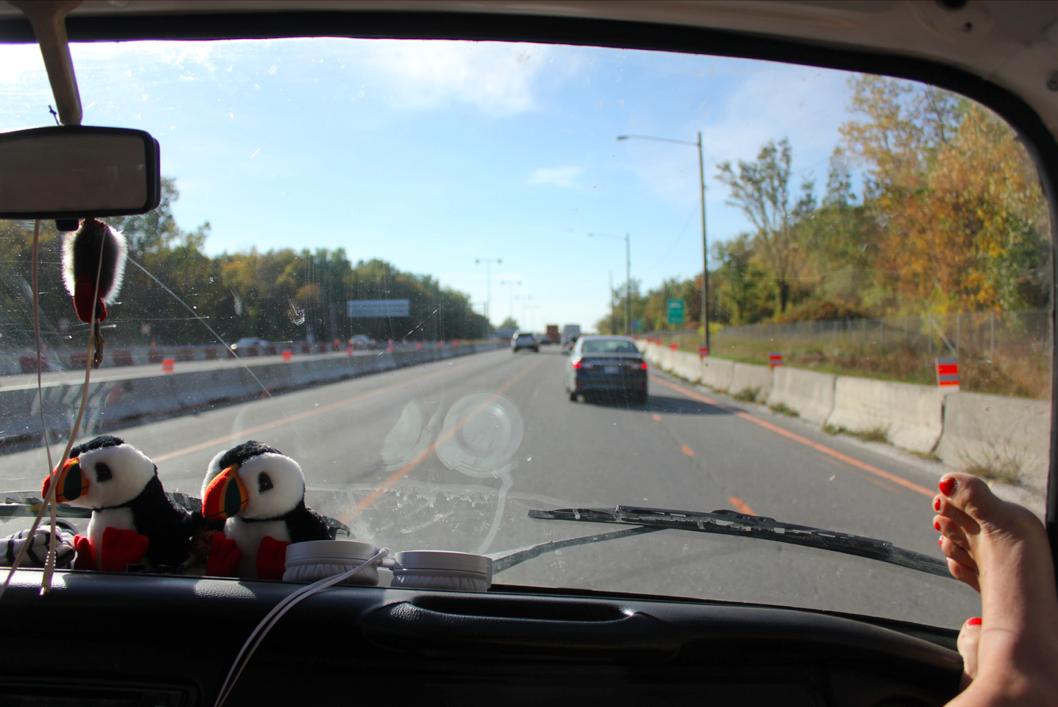 La Fille Voyage - RoadTrip Westfalia Ontario