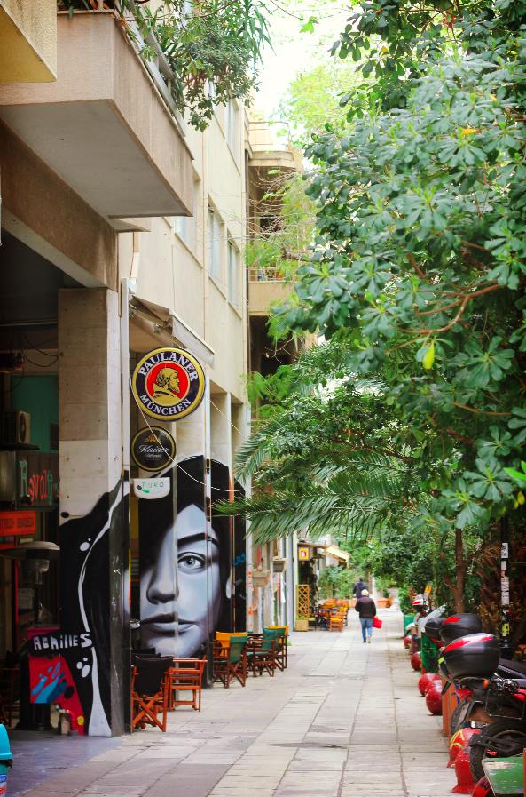 Athènes - art mural