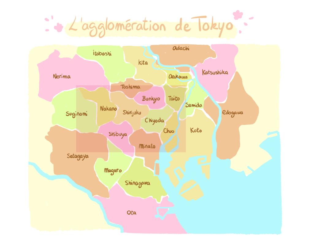 carte tokyo
